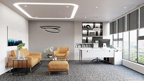 Màu sắc bộ bàn ghế Giám đốc hiện đại
