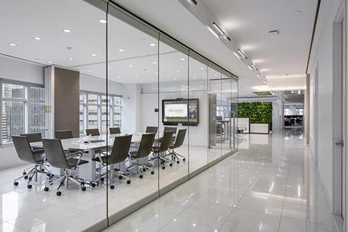 Ánh sáng, màu sắc trong thiết kế văn phòng làm việc hiện đại