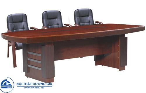 Bàn họp văn phòng bằng gỗ đẹp CT2412H5