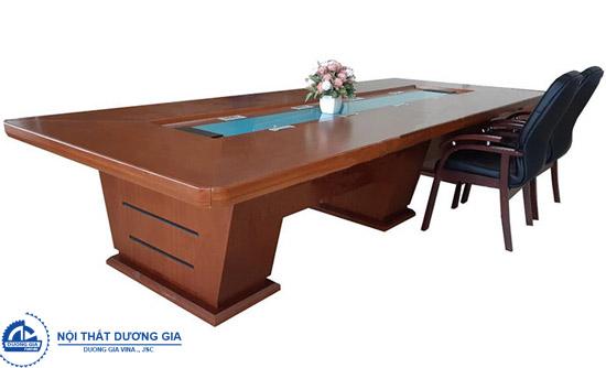 Bàn phòng họp bằng gỗ cao cấp CT4016V19