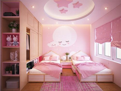 Những mẹo nhỏ khi thiết kế nội thất phòng ngủ cho bé gái