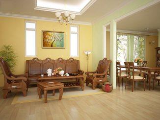 Bật mí cách thiết kế nội thất phòng khách nhà cấp 4 đơn giản, tiết kiệm