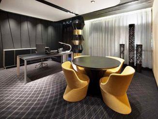 Tư vấn cách thiết kế nội thất phòng Giám đốc hiện đại, sang trọng