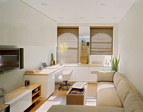 Thiết kế nội thất phòng khách mini cần phải chú ý tới những vấn đề gì?