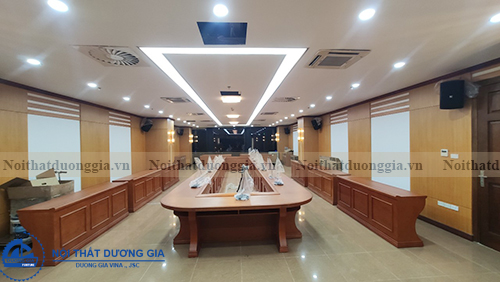 Nội thất Dương Gia thi công nội thất phòng họp uy tín tại Hà Nội