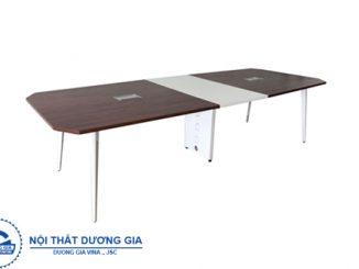 TOP 5 mẫu bàn họp văn phòng chân sắt thiết kế đơn giản, hiện đại