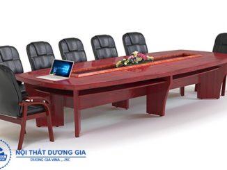 Mua bàn phòng họp dài cần phải chú ý tới những vấn đề gì?